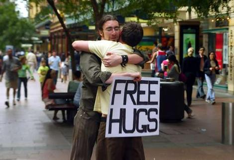 Free hugs campaign