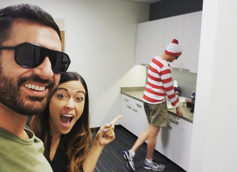 Waldo at Work