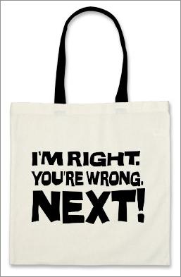 You're Wrong Bag